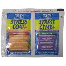 API Stress Coat/Stress Zyme Aquarium Starter