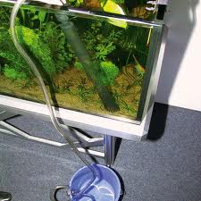 Слив воды из аквариума